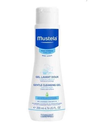 Mustela Mustela SaÇ ve Vücut İÇin Sabun İÇermeyen Gentle Cleansing Gel Temizleme Jeli 200 ml Renksiz